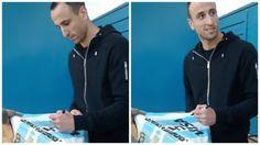 Ganate la camiseta firmada por Manu Ginóbili
