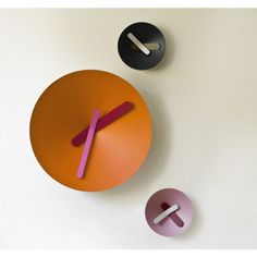 Mozia modern wall clock holiday gift by Diamantini & Domeniconi, $200 (shipping to USA or Canada is included) CLICK on the image to visit our store. Questions? Just leave your comment!