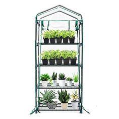 13 Best Greenhouse Kits Of 2021 [Buyer's Guide] Greenhouse Heaters, Best Greenhouse, Portable Greenhouse, Indoor Greenhouse, Backyard Plants, Outdoor Plants, Backyard Patio, Indoor Outdoor, Outdoor Gardens