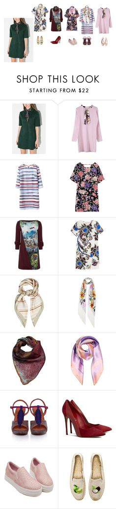 """S.T.Y.L.E : scarf and dress 