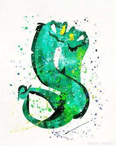 Flotsam and Jetsam, The Little Mermaid Print