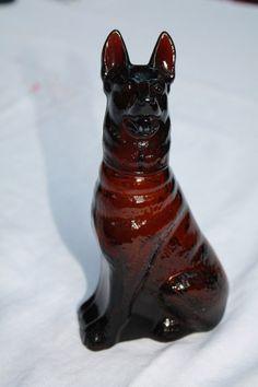 avon dog perfume bottle