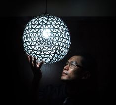 DIY TetraBox Lamp by Ed Chew   DeMilked