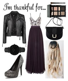"""""""thx for every thing"""" by alexia13-me ❤ liked on Polyvore featuring Needle & Thread, Boohoo, CLUSE, A.P.C., Bobbi Brown Cosmetics and imthankfulfor"""