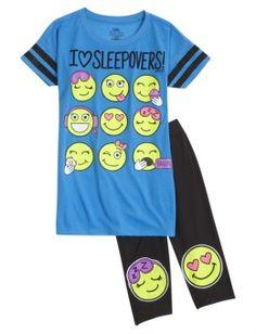 Emoji Legging Pajama Set