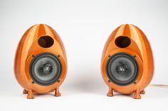 3D-print these awesome enclosures for audiophile sound Diy Bluetooth Speaker, Diy Speakers, Design Crafts, Diy Design, Cultura Maker, Desktop 3d Printer, 3d Things, 3d Printing Business, Digital Fabrication