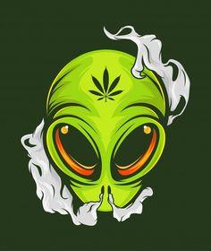 Dope Cartoons, Dope Cartoon Art, Alien Hand, Monsters Vs Aliens, Cartoon Caracters, Alien Drawings, Sad Art, Skull Art, Graphic Design Illustration