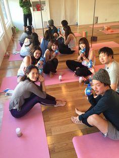 HEPAR(エパー)アンバサダーでもあるLily yoga伊藤ゆりさんの2/1に行われたデトックスヨガにて♡② #エパー #hepar #硬水