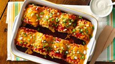 We're bringing BBQ to the lasagna pan with these simple, delicious roll-ups.