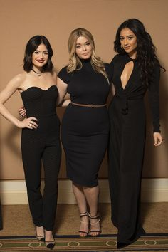 Lucy Hale, Sasha Pieterse & Shay Mitchell at the Disney/ABC Television Group's 2017 Winter TCA Press Tour at Langham Hotel in Pasadena | January 10th, 2017