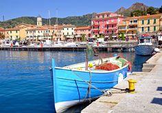 Elba - najpiękniejsza wyspa Toskania, Italy