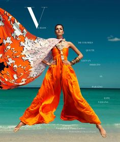 barbara fialho by danny cardozo for harper's bazaar mexico july 2013   visual optimism; fashion editorials, shows, campaigns & more!