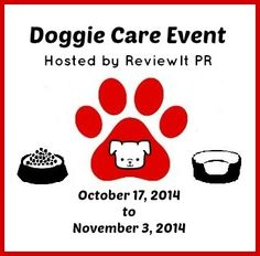 Doggie Care Event   Animal Blogger Opportunity Sign Up   #DoggieCareEvent