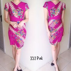 Dress Batik Modern Songket Motif