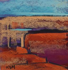 Contemporary Abstract  Landscape SOUTHWEST by KarenMargulisFineArt,