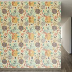 """Found it at Wayfair - Fantastically Removable 8' x 20"""" Floral Wallpaper"""