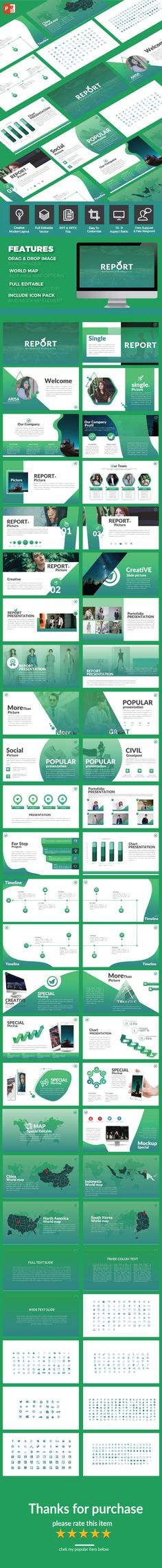 Report - Multipurpose PowerPoint Template