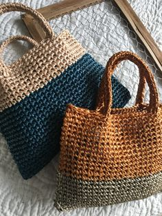 Crotchet Bags, Knitted Bags, Crochet Handbags, Crochet Purses, Crochet Stitches, Crochet Patterns, Crochet Bag Tutorials, Crochet Market Bag, Bag Pattern Free