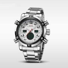 A Weide egyik legsportosabb, határozott megjelenésű karórája. Casio Watch, Rolex Watches, Accessories, Jewelry Accessories
