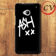 5sos Signature HTC One M7 Black Case