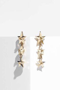 Boucles d'oreilles, métal-doré - CHANEL