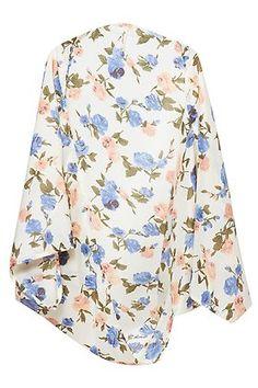 Kimono estampado de flores Let It Be, Clothes, Shopping, Clothing, Outfits, Kleding, Outfit Posts, Coats, Dresses