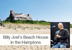 Billy Joel's Hamptons Beach House For Sale