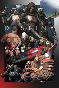 Destiny Poster by SupremacyRain on DeviantArt