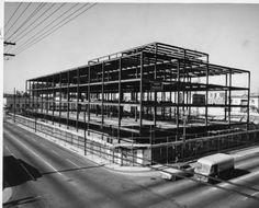 California State Employment Building under construction, Venice & Broadway, 1957. http://digitallibrary.usc.edu/cdm/ref/collection/p15799coll44/id/90219