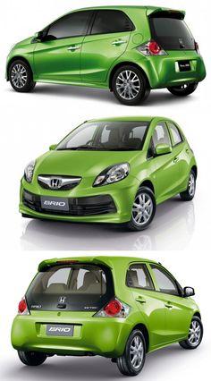 New Honda  Brio Design and Test  in India