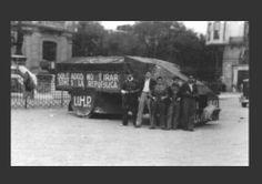Tiznaos: los automóviles de combate de la Guerra Civil