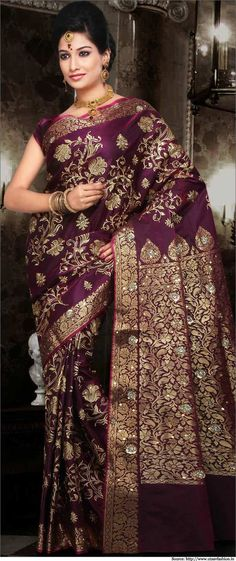 Pure Silk Sarees - Banarasi, Kanjivaram, Wedding, Bridal, Silk Sarees