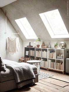 7 decor ideas for tricky attic rooms by interior Stylist Maxine Brady at WeLoveHomeBlog, Styling Anna Cardell, Photos Andrea Papini for Ikea Livet Hemma