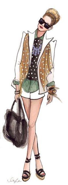 Fashion Sketches | http://girlfashions922.blogspot.com