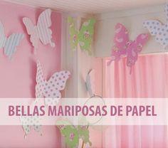 Si están planeando redecorar el dormitorio de sus hijas pequeñas o de alguna otra niña de la familia deben saber que existen decoraciones muy fáciles de hacer y rápidas que no cuestan mucho dinero...