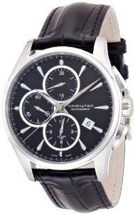 Hamilton Jazzmaster Automatic Chronograph Black Dial Mens Watch H32596731 Hamilton. $1090.00. second-hand. luminous. Water Resistant up to 100 m