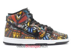 """Nike Dunk SB High Cncpts """"Stained Glass"""" 313171-606 Chaussure Nike Sneaker Prix Pour Homme/Femme - 313171-606 - Boutique Sneakers Officielle Pas Cher (FR) Basket Nike Air, Baskets Nike, Jordans Sneakers, Air Jordans, Nike Air Max, Nike Pas Cher, Nike Sb Dunks, Adidas, Nike Shoes"""