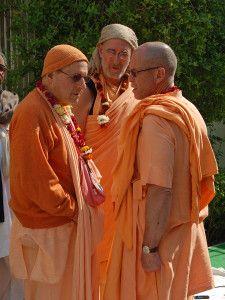 Govinda swami and Giriraj swami