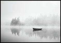 Schwarz-weißes Fotoposter ...