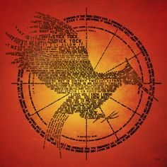 Catching Fire Typography Print - love this!