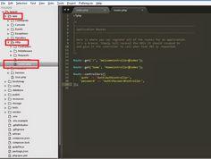 Laravel Tutorials: Basics of routing in laravel Ruby On Rails, Logic Puzzles, Computer Programming, Web Development, Infographic, Web Design, Tutorials, Learning, Infographics