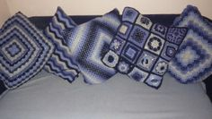 five cushions finished