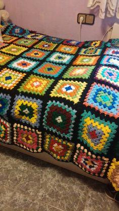 Colcha /crochet/ granny / cuadrados