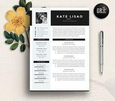 Resume Template | CV Template - 09 by GResume on @creativemarket