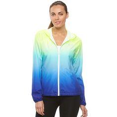 3e0168f3fd Women s FILA SPORT® Ombre Hooded Jacket Fila Windbreaker