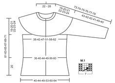"""DROPS svetr pletený lícovým žerzejem s copánky, s kruhovým sedlem z příze """" Andes"""" nebo """" Eskimo"""". Velikost: S – XXXL. ~ DROPS Design"""
