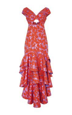 Magnolia Dress by JOHANNA ORTIZ for Preorder on Moda Operandi