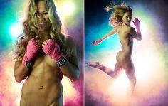 Medo de divulgação de fotos íntimas fez Ronda Rousey estrelar ensaio nua @canalCombate