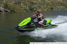 Sweet shot of the 2014 Kawasaki Jet Ski® Ultra® 310R in action!