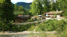 Die Siebenhüttenalm bei Wildbad Kreuth